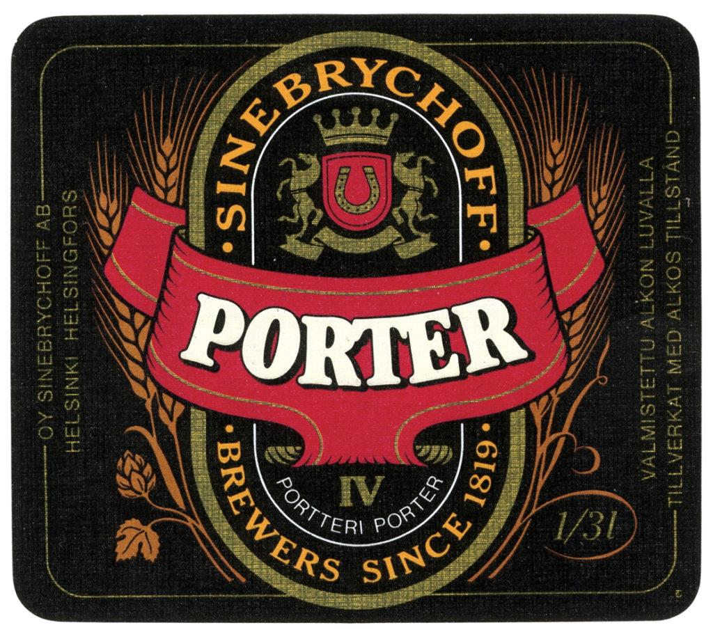Sinebrychoff Porterin valmistus jatkuu edelleen.